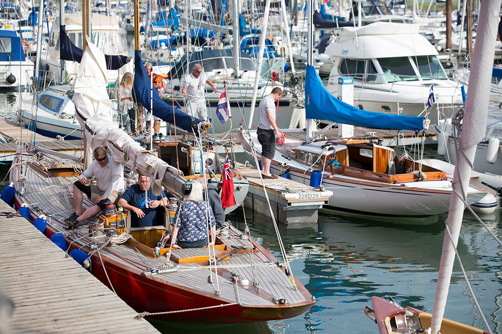 SYH announces new Classic Regatta social programme for 2019