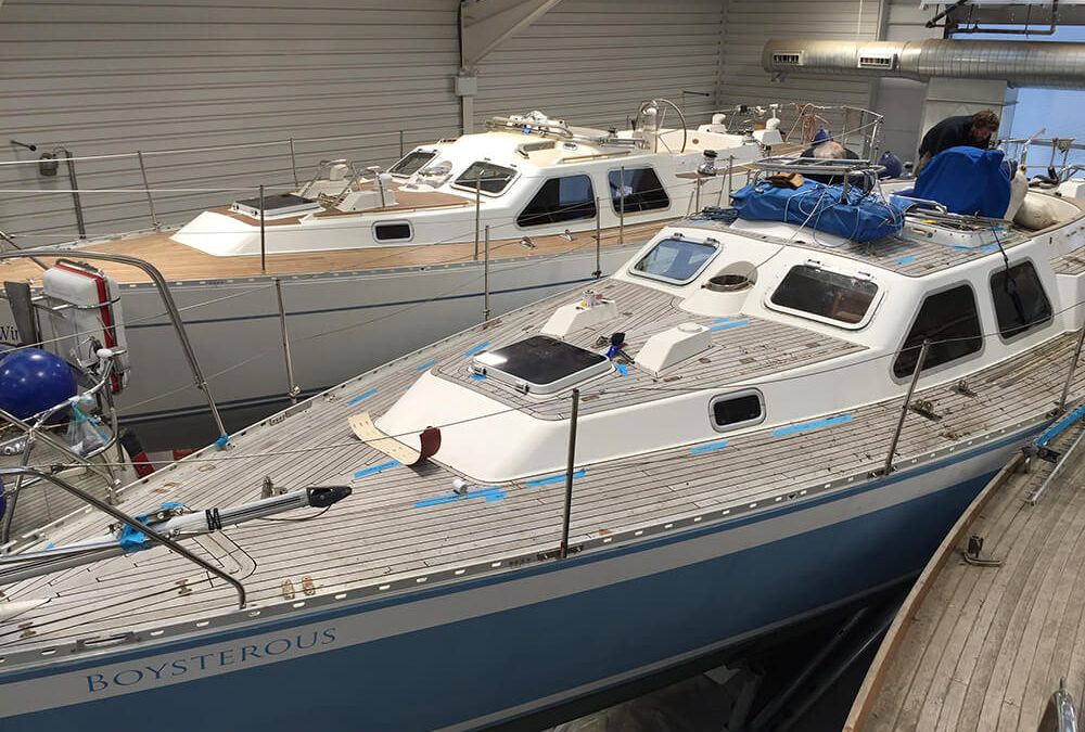 Refits for twin Oysters