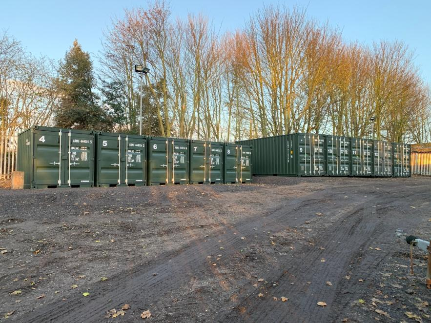 Secure storage available for hire
