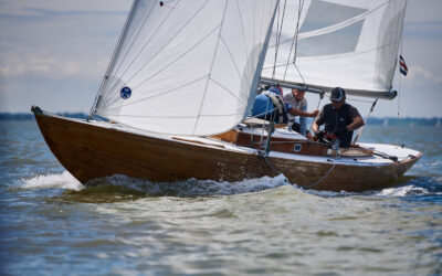 IOD Whisper Triumphs in Tricky Conditions at the Suffolk Yacht Harbour Classic Regatta